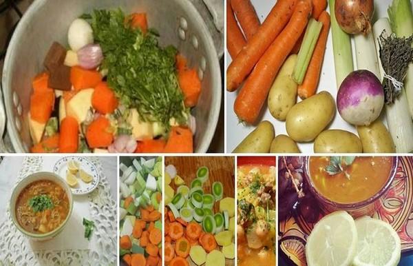 Recette Chorba aux Légumes