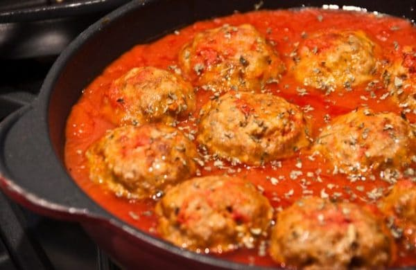 recette boulettes de viande la sauce tomate. Black Bedroom Furniture Sets. Home Design Ideas