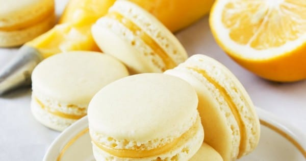 Recette Macarons à la Confiture et au Lemon Curd