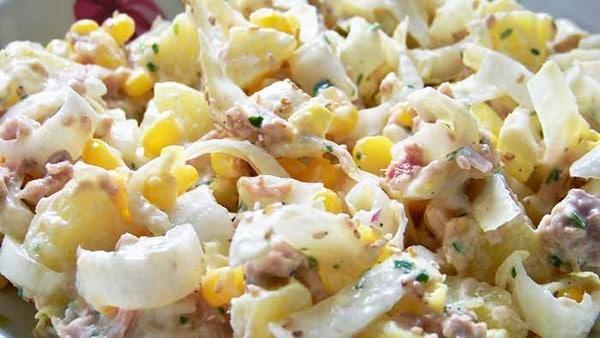 Recette Salade Endives-Pommes de Terre et Thon