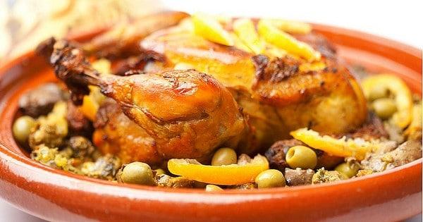 Recette Tajine au Poulet et aux Olives