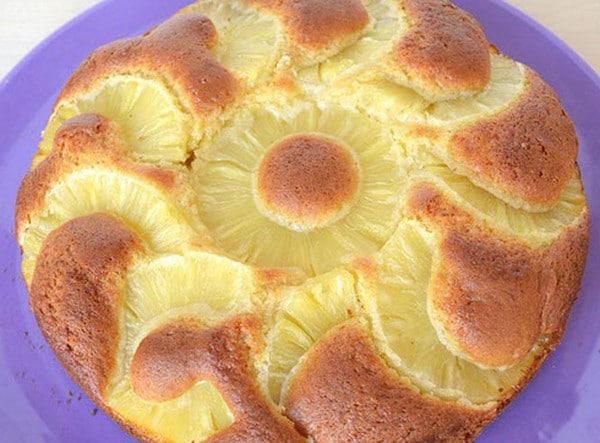 Recette de Gâteau Léger à l'Ananas WW