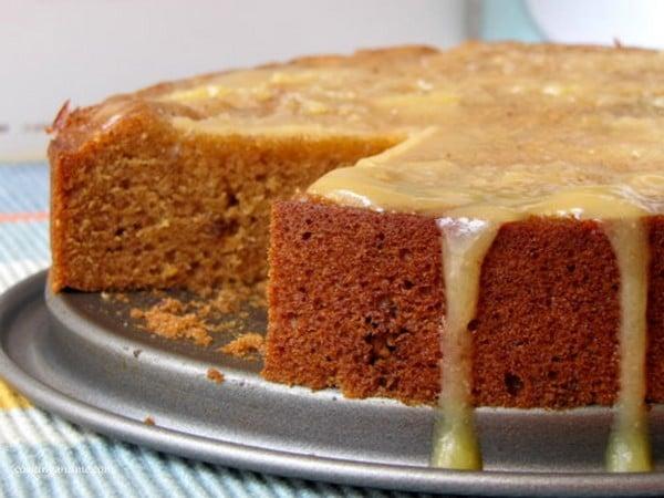 Recette Gâteau aux Dattes avec Sauce Toffee
