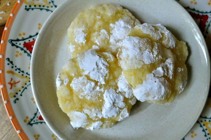 Recette Biscuits Craquelés au Citron