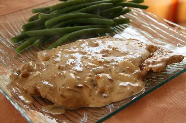 Recette Escalopes de Veau à la Crème et aux Champignons