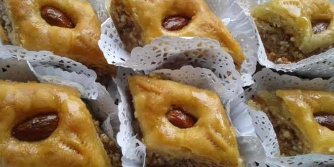 Recette Gâteau Magrébin ( Baklaoua)
