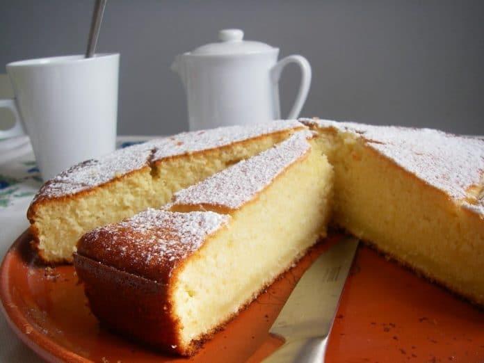 Recette Gâteau au Noix de Coco Râpé Chocolat Blanc et Ricotta
