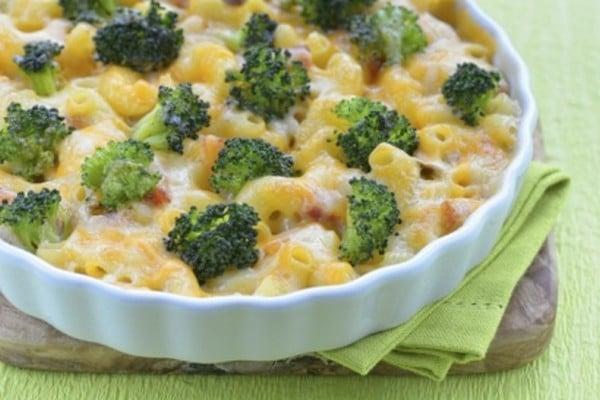 Recette Gratin de Macaronis au Brocoli et au Jambon