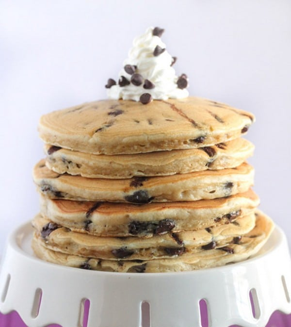 Recette Pancakes Ultra Moelleux aux Pépites de Chocolat