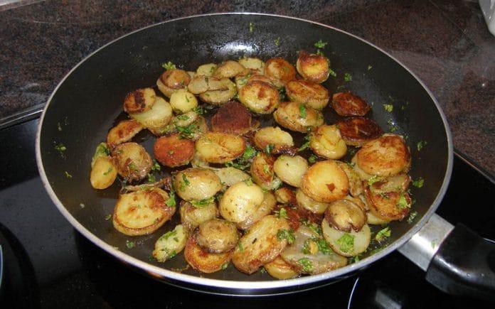 Recette Pommes de Terres Grillées
