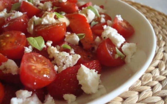 Recette Salade Tomates Basilic et Mozzarella