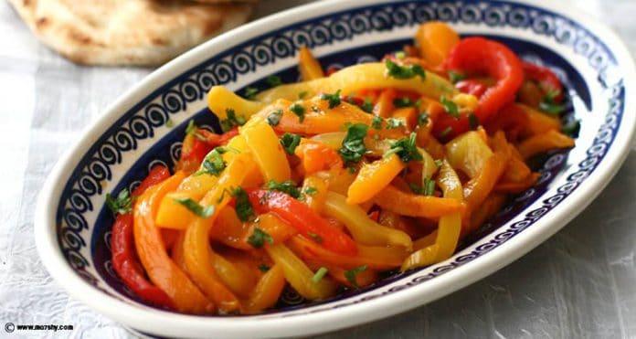 Recette Salade de Poivrons