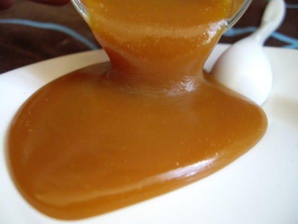 Recette Sauce au Caramel Beurre Salé