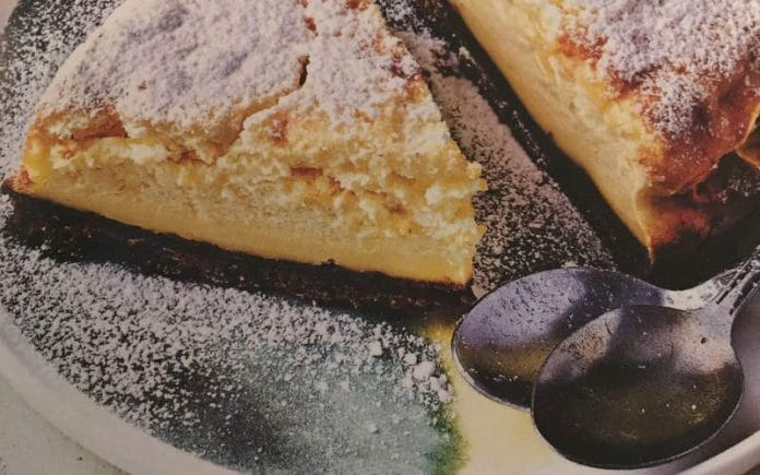 Recette Cheese Cake Magique