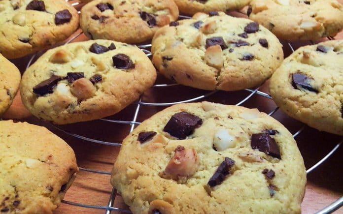 Recette Cookies Chocolat et Noix de Macadamia