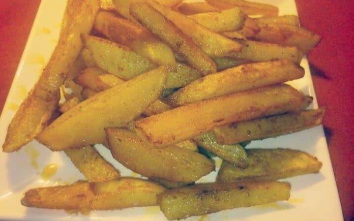 Recette Frites aux Paprika au Four