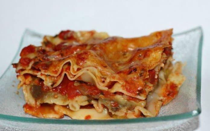Recette Lasagnes Aubergine-Mozza