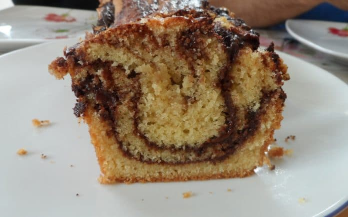 Recette Cake Noisettes-Chocolat