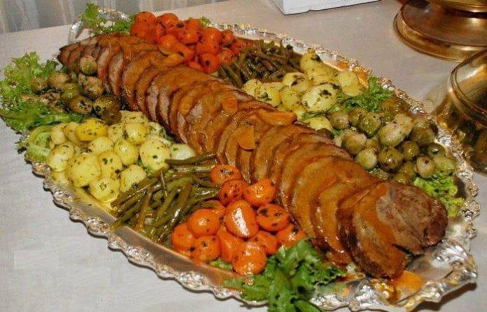 Recette Rôti de Veau Farci et ses Légumes Sautés