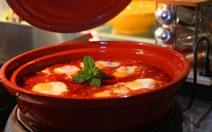 Recette Tajine Kefta aux œufs